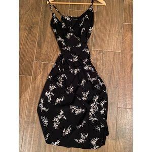 Abercrombie Midi Wrap Dress XS